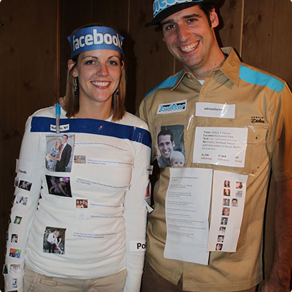Social Media Couple Costume