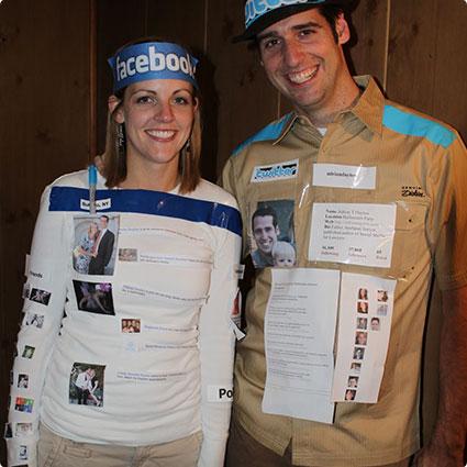 Social Media Couple Costume