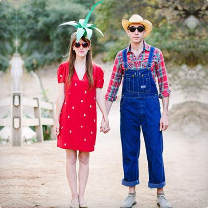 Strawberry Farmer & His Harvest!