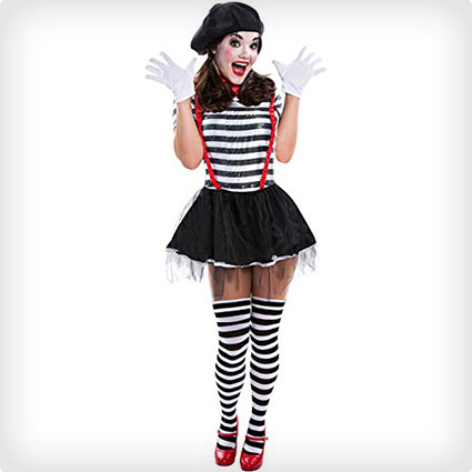 Teen Mime Costume