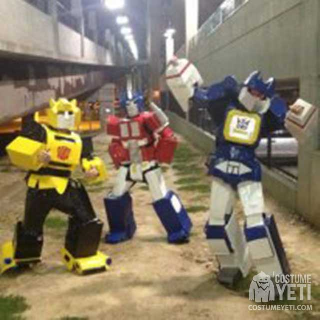 Transformers Group Of Three