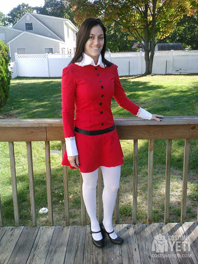 Veruca Salt from Willy Wonka's Chocolate Factory