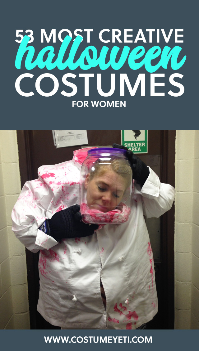 This is the holy grail for creative Halloween costume ideas for women. Love it!