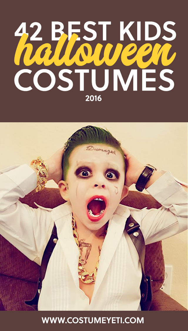 This is the holy grail for unique kids Halloween costumes! So many unique costume ideas for Halloween 2016.
