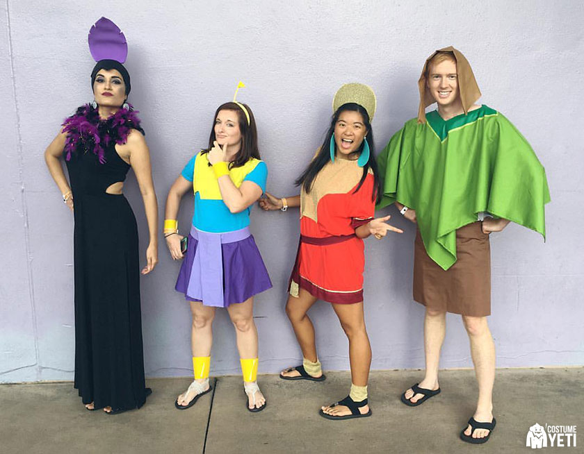 emperors new groove group costumes
