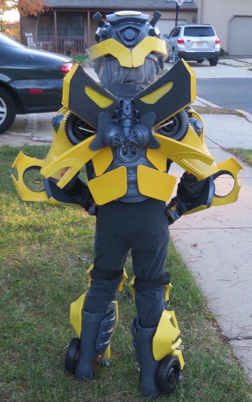 back of costume