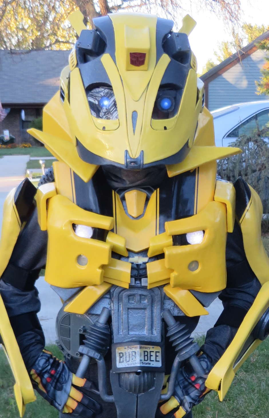 diy kids transformers costume