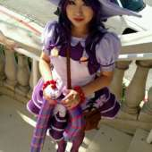 Bittersweet Lulu League of Legends Costume