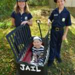 Creative Cops and Robber Costume