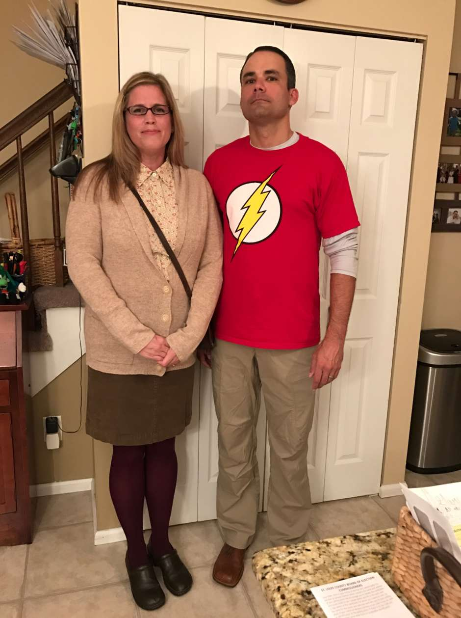 Couples Big Bang Theory Meets Suburbia Costume
