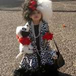Ridiculously Adorable Cruella Deville Kids Costume
