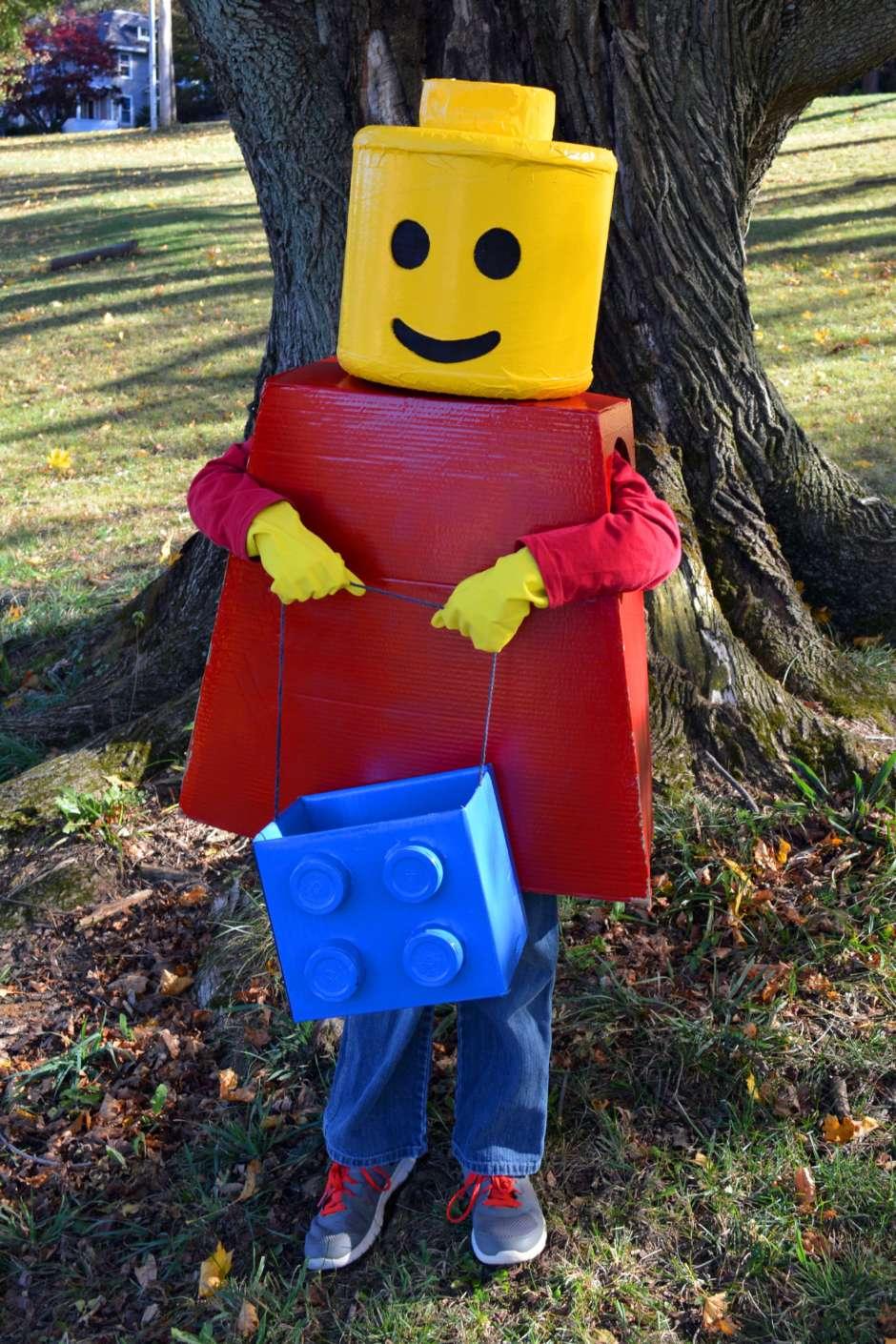 Lego Mini Figure Costume