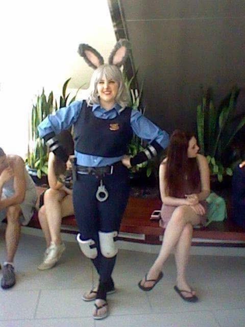 Officer Hopps Costume