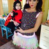 Polka Dot Doll Costume
