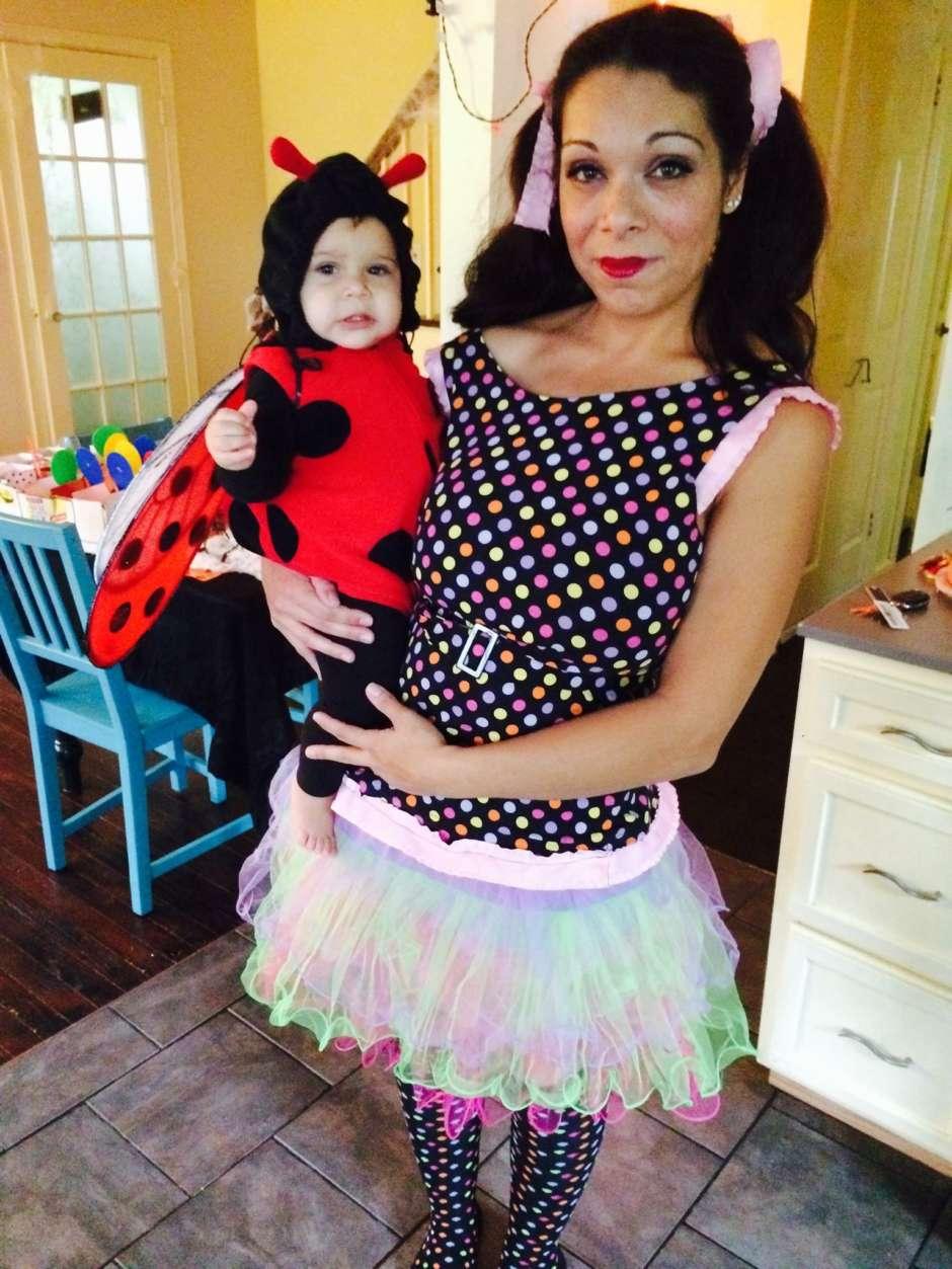 Polka Dot Doll Costume