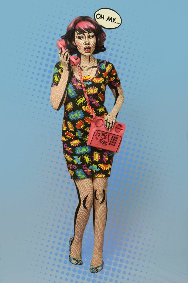 Pop Art Girl Costume