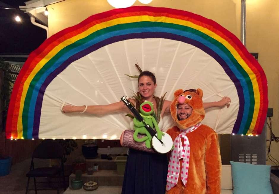 Rainbow Connection Costume