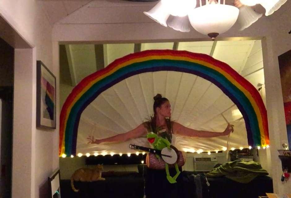 Rainbow Connection Woman