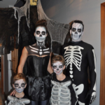Scary Skeleton Family Costumes