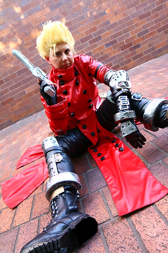 Vash The Stampede Costume Anime