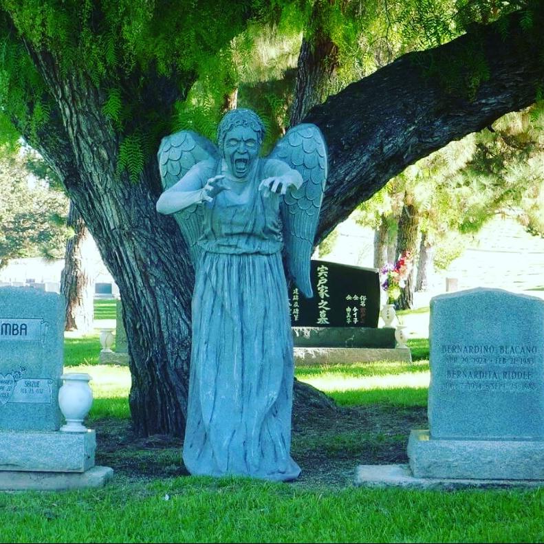 Weeping Angel Statue Costume