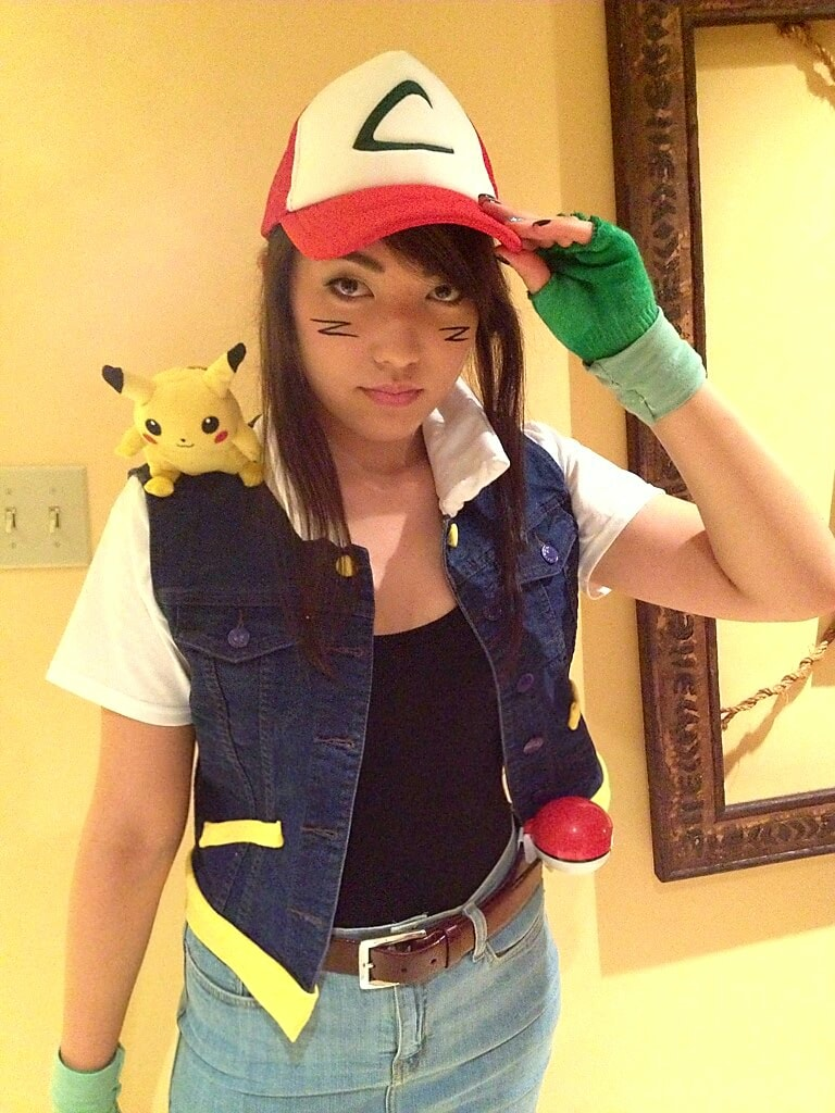 pokemon ash ketchum teen costume