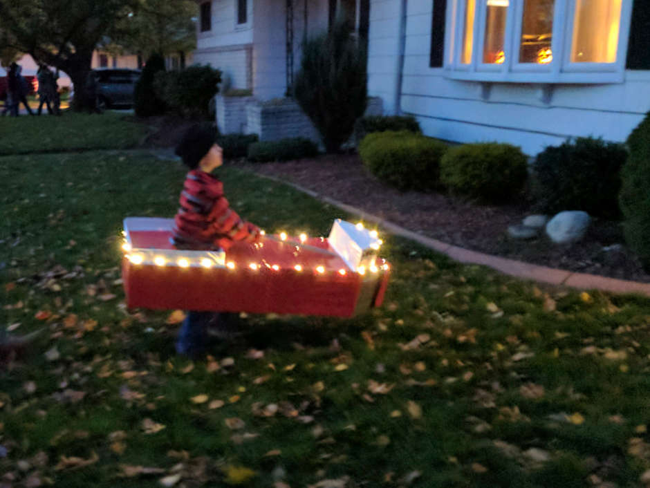 boat costume for kids