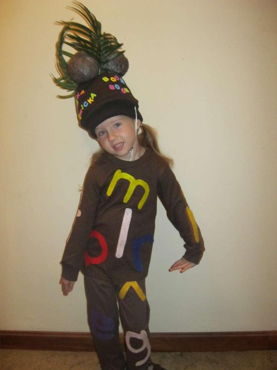 Chicka Chicka Boom Boom Tree Costume Costume Yeti