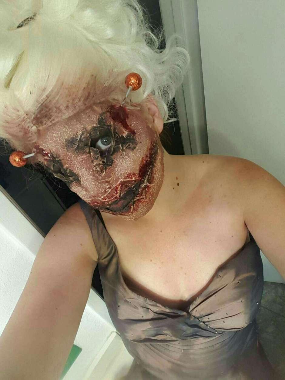 diy voodoo costume