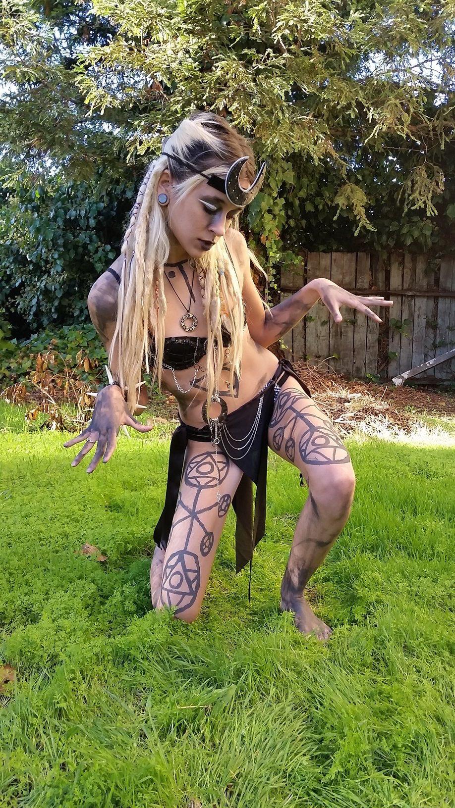 enchantress suicide girls costume