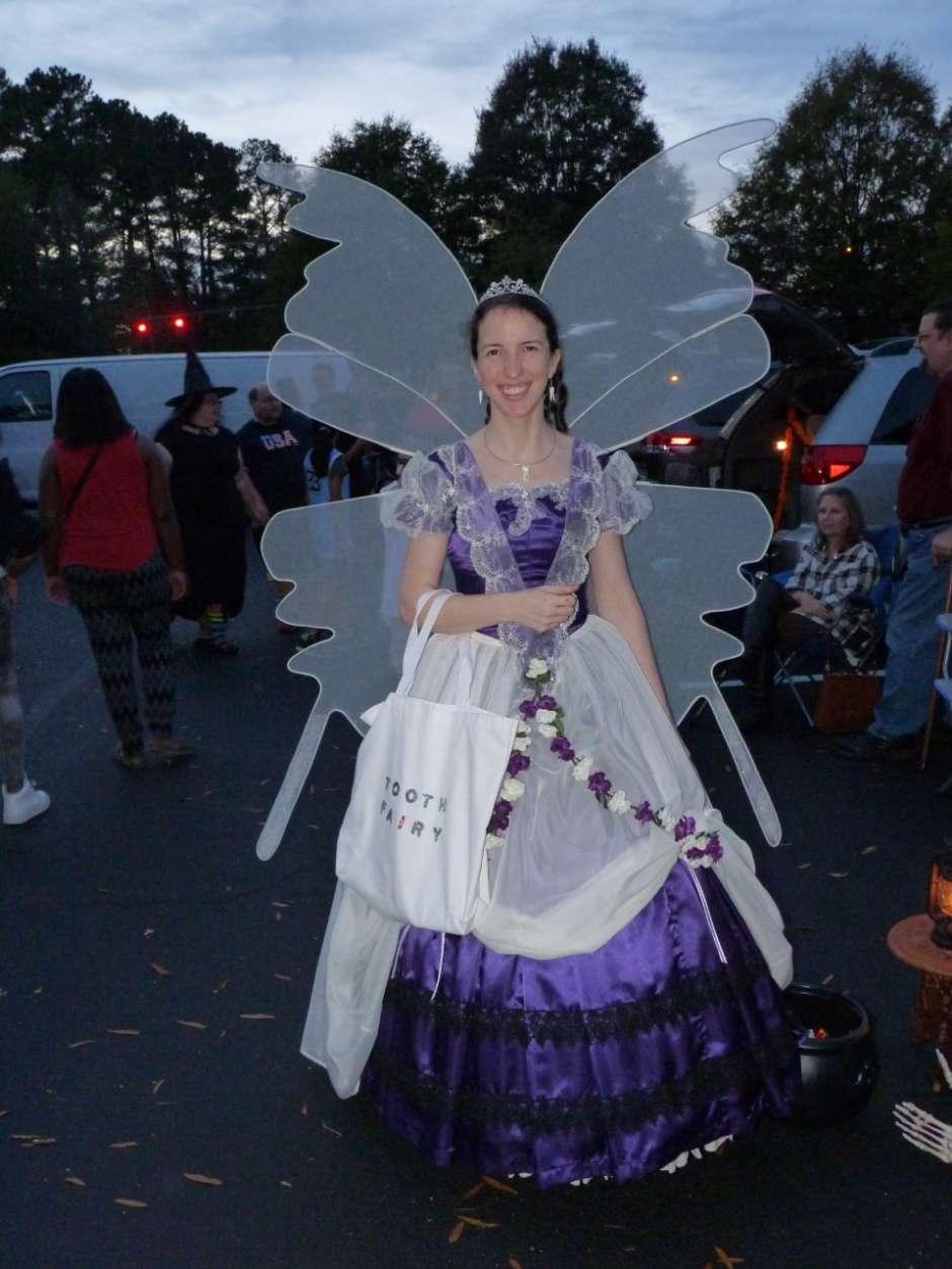 homemade tooth fairy costume