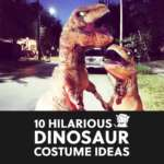 10 Hilarious Dinosaur Costumes (+ An Epic Inflatable T-Rex for Adults and Kids)