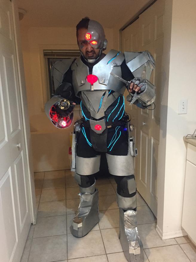 halloween cyborg