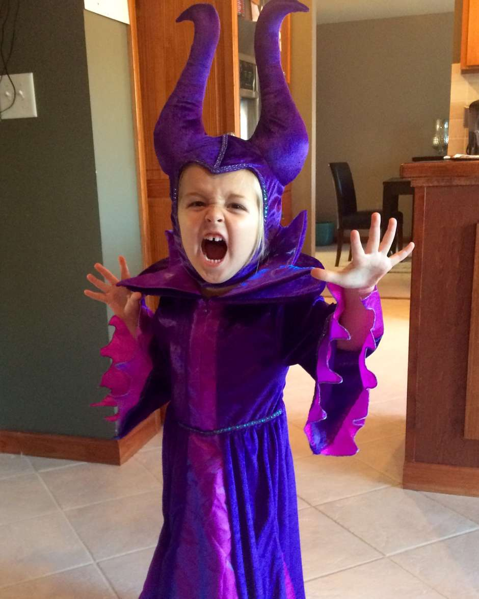 kids Maleficent costume