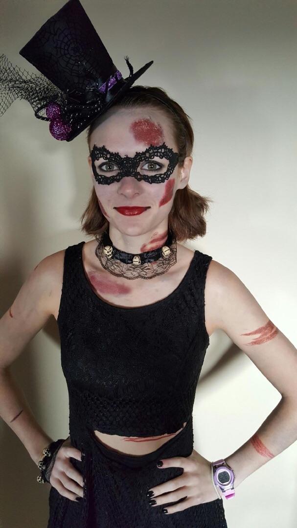 killed at a masquerade party