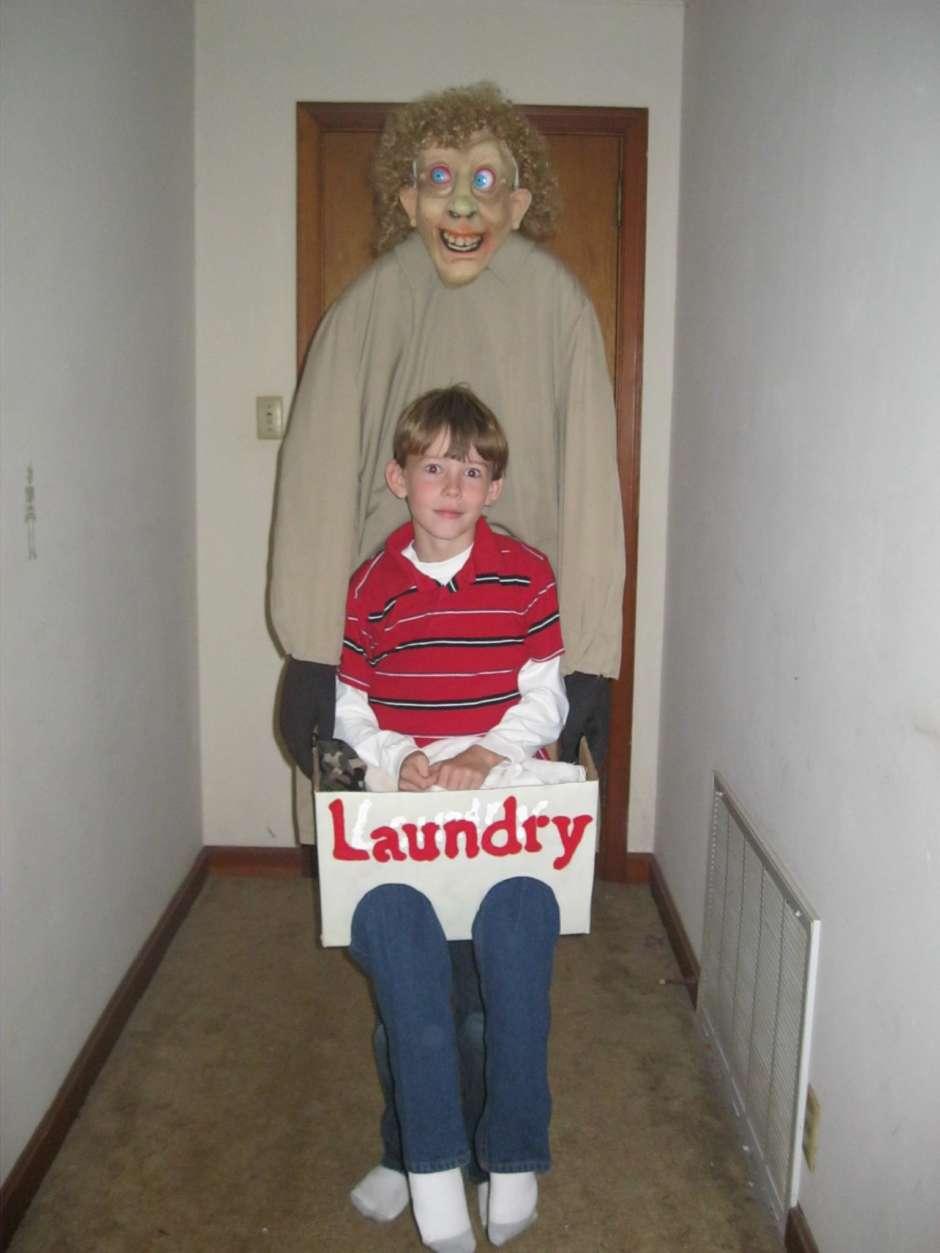 laundry man kids optical illusion costume