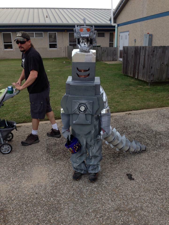 mechagodzilla kids costume
