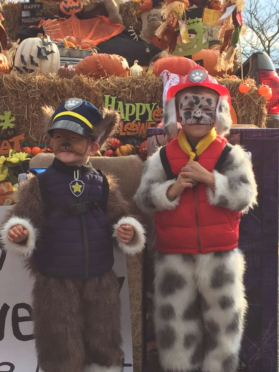 paw patrol marshal and chase costume