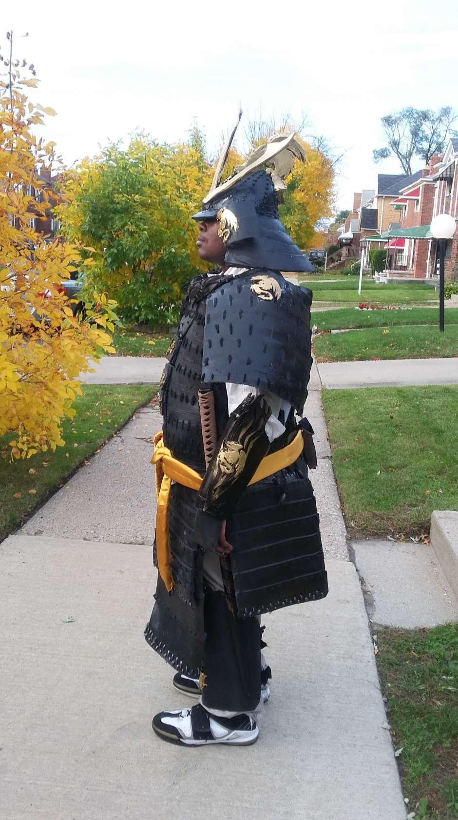 Homemade Samurai Full Armor Costume Yeti