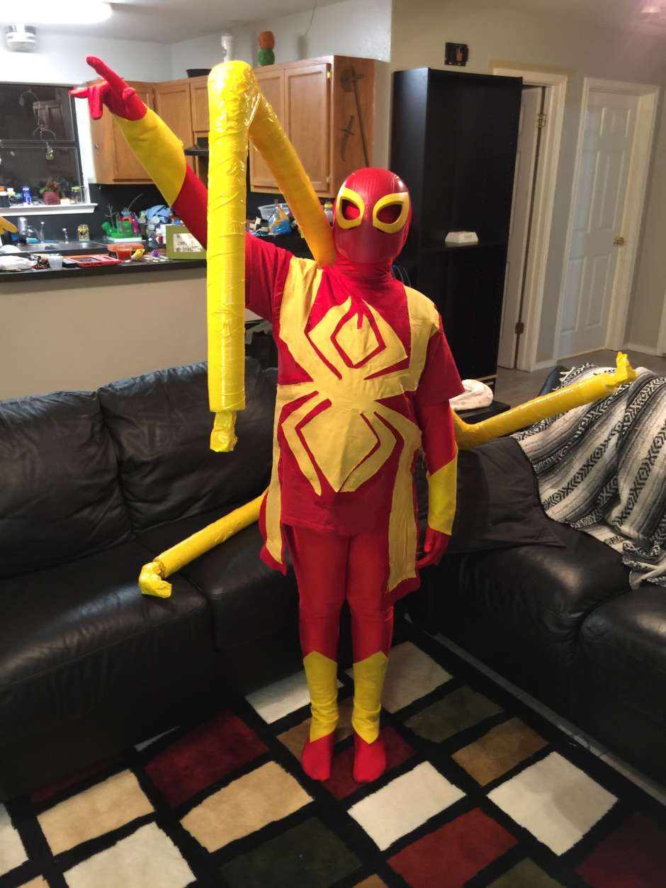 iron spider costume & The Iron Spider Costume | Costume Yeti