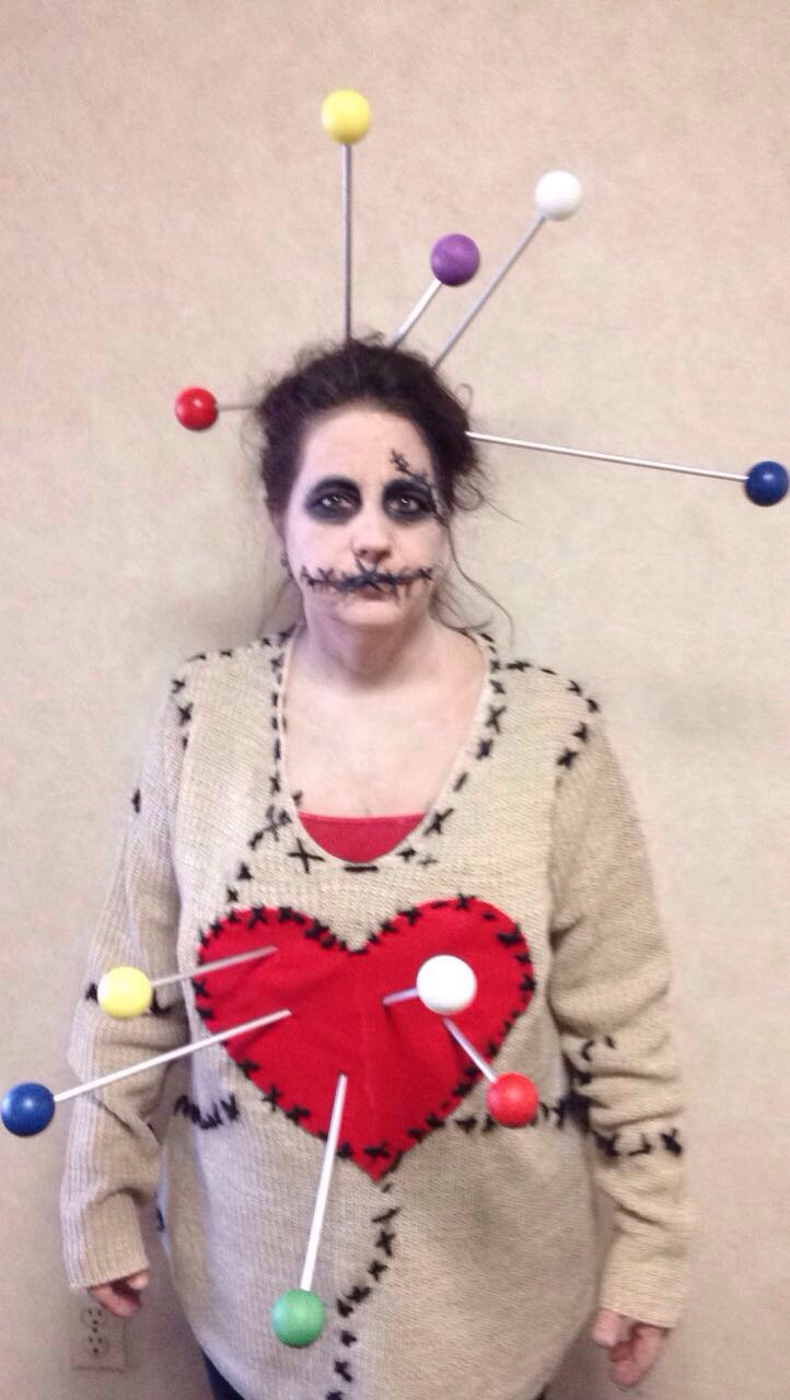 terrifyingly impressive diy voodoo doll costume - costume yeti