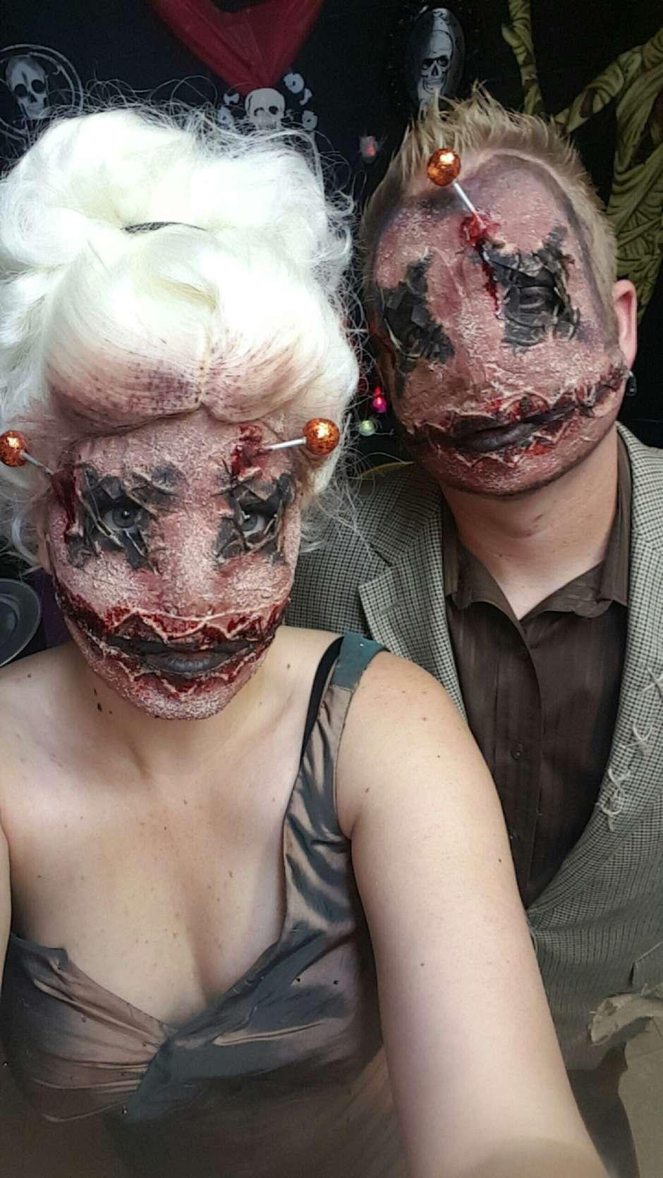 voodoo dolls couples halloween costume