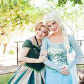 Authentic Homemade Adult Frozen Elsa Costume