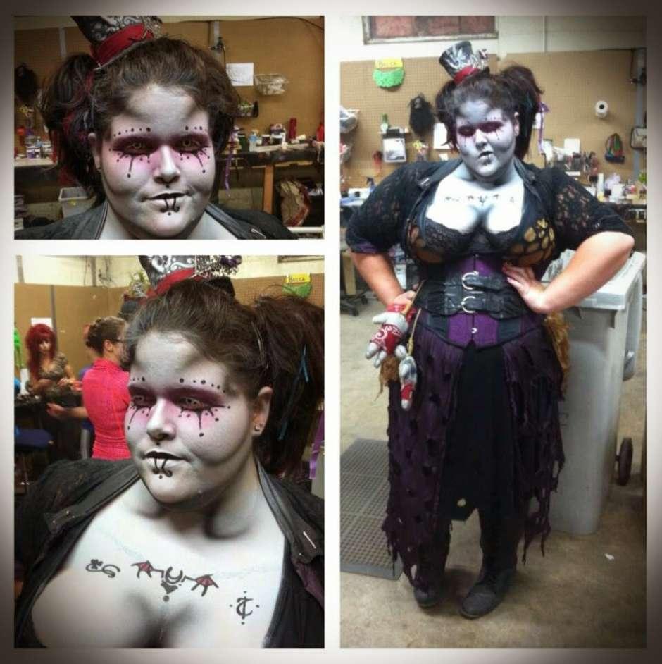 Demon Gypsy Madame Gavourna Costume