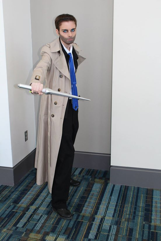 DIY Castiel Costume from Supernatural