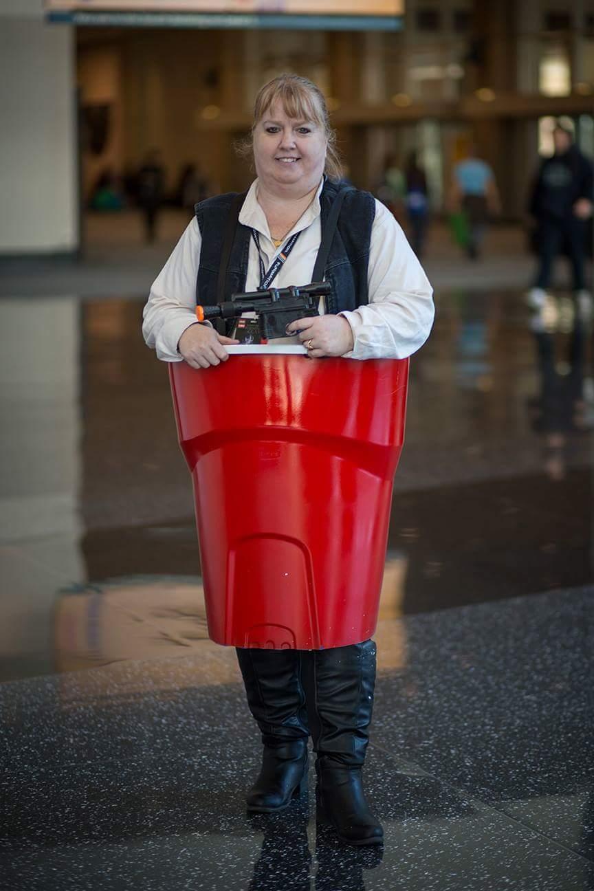 Han Solocup (Hilarious Hans Solo Costume Parody)