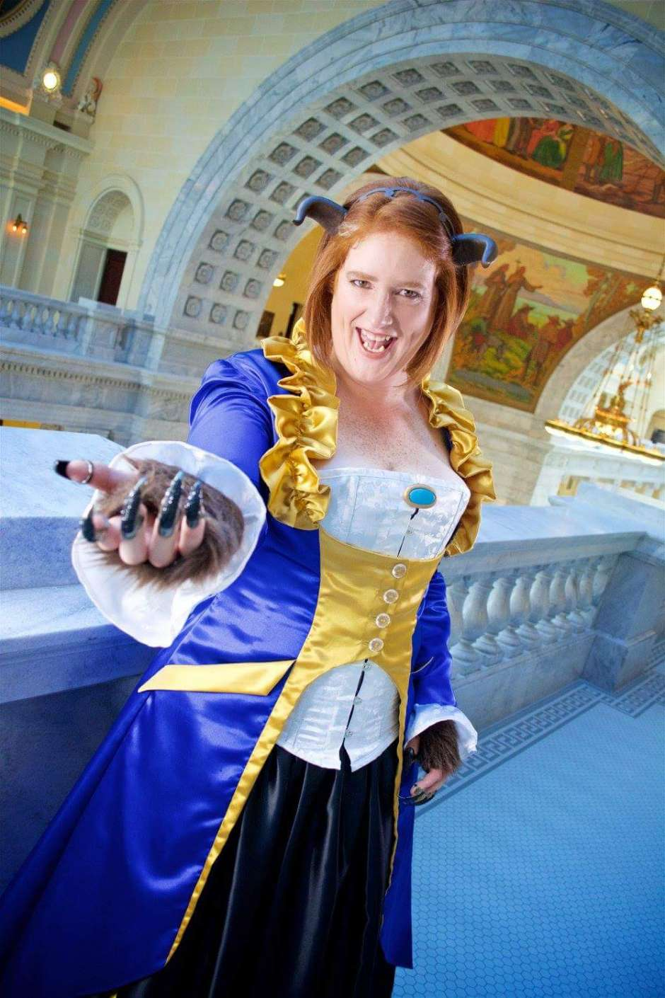 Lady Beast Beauty and the Beast Gender Bend Costume