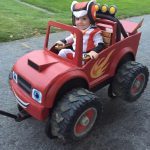 Homemade AJ and Blaze Monster Machines Costume
