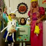 DIY Adventure Time Family Costumes