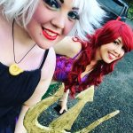 Ariel and Ursula Costumes for Friends